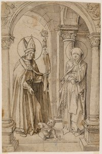Saint Augustine in Conversation with Saint Monica
